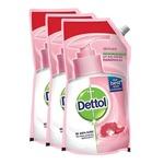 Dettol Skincare Liquid Soap Refill - 750 ml (Pack of 3)