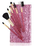 Foolzy BR-16B Professional Makeup Brushes Kit, Purple (Set of 7) - Amazon    Next best Rs.340