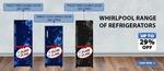 Whirlpool Refrigerator Upto 29% Off on Purchase.
