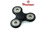 Premsons FidgetSpinner Toy with Silver Steel Wing Bearings, Black
