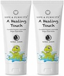 Life & Pursuits Certified Organic Ayurveda Diaper Rash Cream for Baby, 100% Natural - Pack of 2 x 40 gm