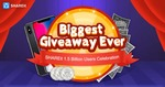 SHAREit Biggest Give away