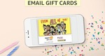 Amazon - 5% cashback on purchase of gift cards