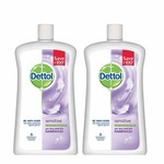 LOOT  Dettol Sensitive Liquid Soap Jar - 900 ml (Pack of 2)