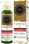 Morpheme Remedies 7 Ultra Hair Oil with Almond, Jojoba, Castor, Coconut, Olive Oils - 120ml