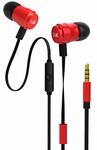 Boat Bassheads 235 V2 in-Ear Super Extra Bass Earphones with Mic (Furious Red)