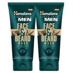 Himalaya Men Face and Beard Wash, 80ml (Pack of 2)