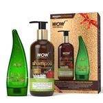 (lowest)WOW Apple Cider Vinegar Shampoo with WOW 99% Pure Aloe Vera Gel Combo Kit(53% off)(@375)