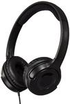 AmazonBasics On-Ear Headphones (Black & blue )