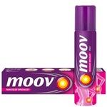 Moov Ointment - 50 g and Moov Spray - 80 g