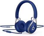 Beats EP Wired Headset with Mic  (Blue, On the Ear)