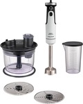 Morphy Richards Total Control Workcentre 650 W Hand Blender  (White)