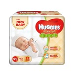 Huggies Ultra Soft for New Baby XS Size Diapers (22 Count)