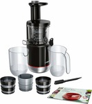 Bosch Lifestyle MESM731M 150-Watt Slow Juicer (Black)