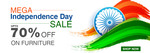 Hometown Mega Independence Day Sale : Upto 70% Off + Extra 10% Off