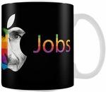 Posterboy 'Steve Jobs Apple' Ceramic Mug (White)- Rs  107  [ 73 %  off   ] @  amazon