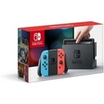 Nintendo Switch with Neon Blue and Neon Red Joy-Console