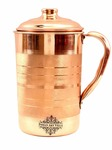Lowest : Indian Art Villa Pure Copper Jug, Storage Water, 1700 Ml
