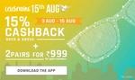 Independence day sale at Lenskart! Buy1 Get1(with lens)+ upto 15% off + Rs 150 CASHBACK
