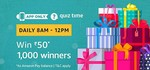 Amazon Quiz Time Answer & Win ₹50 - 24 September 2018