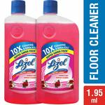 Lizol Disinfectant Floor Cleaner - 975 ml (Pack of 2, Floral)  @172 only