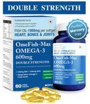 Carbamide Forte Omega 3 Fish Oil 1000Mg Double Strength 60 capsules at 269rs
