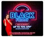 Airasia Black Friday Sale till 25th nov upto 70% off App exclusive deal