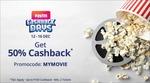 Paytm - 50% Cashback on 2 movie tickets, upto Rs. 150 (12-16 Dec)