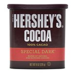 38% off on HERSHEYS COCOA,special dark blend of natural and dutched cocoas,(226g)