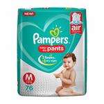 Pampers New Diapers Pants, Medium (76 Count) at 643