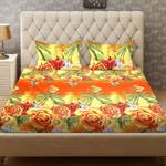Bombay Dyeing Microfibe & polyster  Floral Bedsheet  Rs 399
