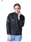 Leather and PU leather Jacket for Women : Upto 85% Off ( Vero Moda, Flying Machine, Perry Jones, Arrow, USPA, People, FabAlle)
