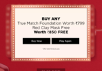 L'oreal Paris Worth It Week | Play the slots to win exciting offers on Make-up