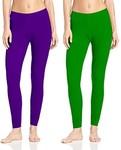 GIRL & Women Woolen Warm Leggings Pack Of 2 @99(mrp1599)