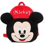 Blue Tree Kid's Fabric 10 L Red Mickey Backpack
