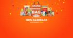 Live Early : Grofers Grand Orange Bag Days : Get 100% Cashback upto Rs.5000 on Grocery + BOGO Offers