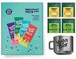 Yogabars - Breakfast Protein Bars (New Year Special Variety Box, Pack of 6)