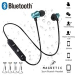 Magnetic attraction Bluetooth Earphone Headset waterproof sports 4.2 with Charging Cable Young Earphone Build-in Mic
