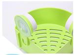 Plastics Triangle Shower Corner Caddy Basket (Single Piece)
