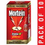 Mortein Insta5 Vaporizer Refill (25 ml, Red, Pack of 10)