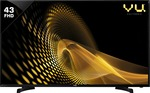 Vu Play 109cm (43 inch) Full HD LED TV @16999 after 10% off ( pay with dc,cc or netbanking upto 1000 rs)