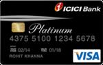 ICICI Lifetime Free Platinum Chip credit card