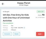 LOOT, free deal for pune users on nearbuy for kid activitiy