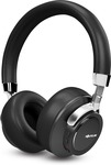 LOWEST   SoundLogic Voice Assistant Wireless Stereo Headphone Bluetooth Headset with Mic  (Black, On the Ear)#OnlyOnFlipkart