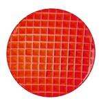 Haixing Plastic Plate, 24cm, Red