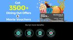 Burrp More 1+1 on food 2+2 on drinks plus free BMS voucher worth 500/1000 (Limited Cities)