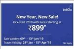 Indigo Sale Live - Fare Starting From Rs 899 On Flights (+250 Paytm Cashback)
