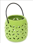 Amazon – Buy @Home Ceramic Small LED Hanging Lantern, Green at Rs.96 only