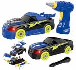Toys Bhoomi Build Your Own Take-Apart 2-in-1 Racing Kids Car Modification Playset - 26 Piece