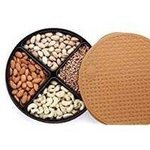 @229+50 @amazon (Bagathon India Plastic 1000 ml 4 section dry fruits Box)
